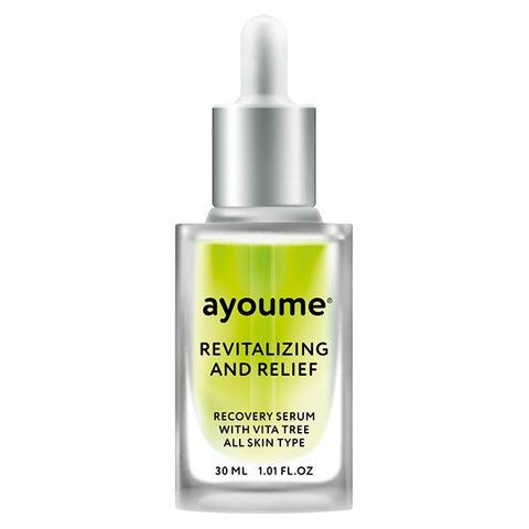 Сыворотка восстанавливающая Vita Tree Revitalizing-&-Relief Serum от Ayoume