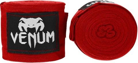 Бинты для бокса Venum Kontact 4m - Red