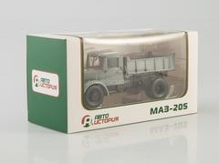MAZ-205 tipper gray 1:43 AutoHistory