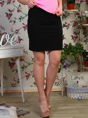 0333-1 юбка женская , черная