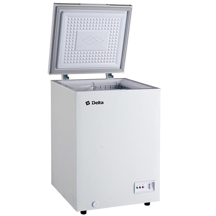 Ларь морозильный низкотемпературный 102л DELTA D-С102НК, 1 корзина