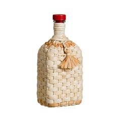 Бутылка стеклянная 1,2 л. «Штоф», оплетенная ли...