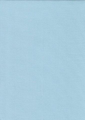 Простыня на резинке 180x200 Сaleffi Raso Tinta Unito с бордюром сатин светло-голубая
