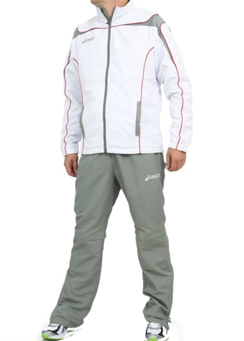 ASICS SUIT WORLD мужской спортивный костюм белый
