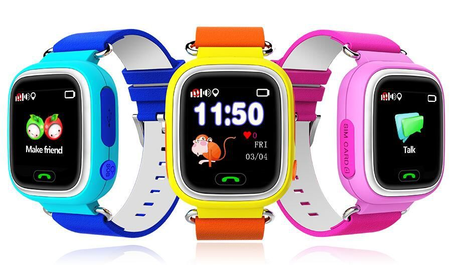 Smart Baby Watch Q80 / Q90 GW100 Wonlex
