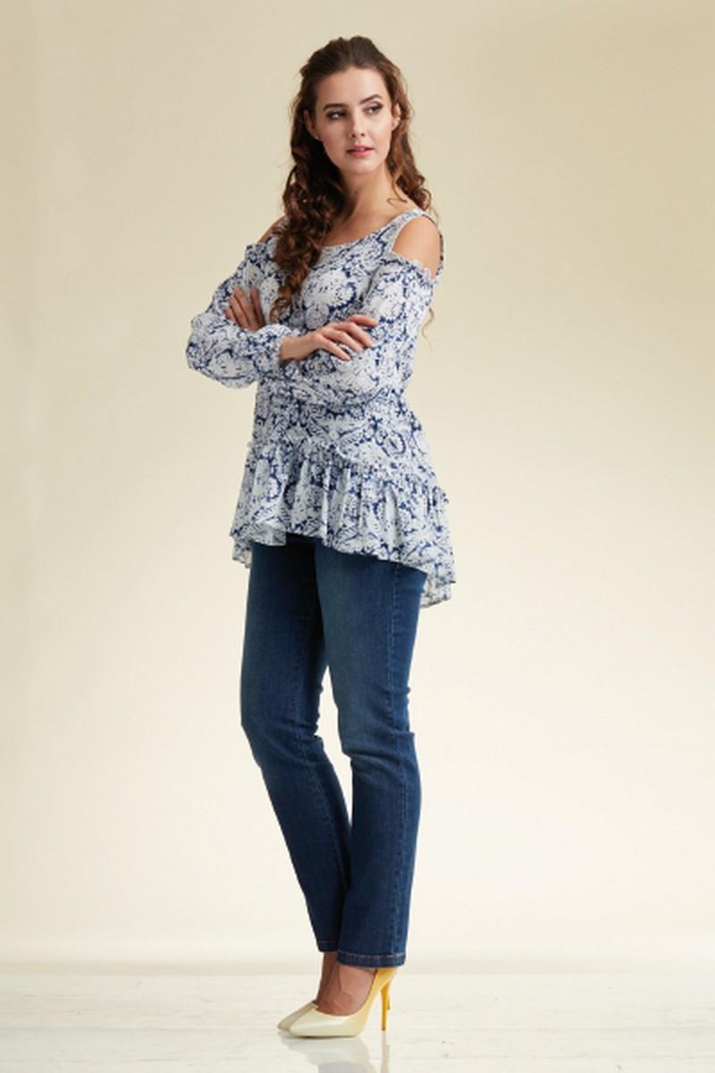 Блузка 02194 цветной