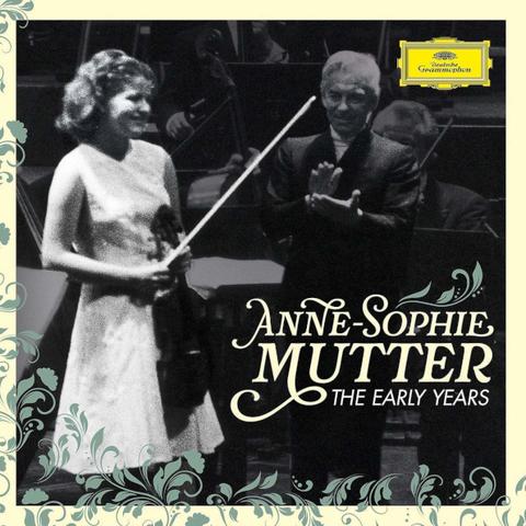 Anne-Sophie Mutter, Berlin Philharmonic, Herbert von Karajan / The Early Years (3CD+Blu-ray)