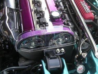Прозрачный кожух ГРМ Mitsubishi 4G63