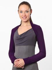 B170-58 болеро женское, фиолетовое