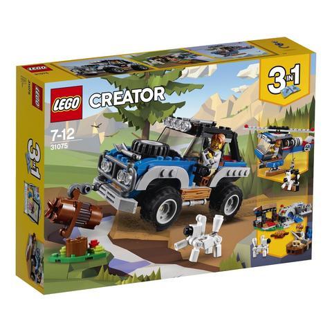 LEGO Creator: Приключения в глуши 31075 — Outback Adventures — Лего Креатор Создатель