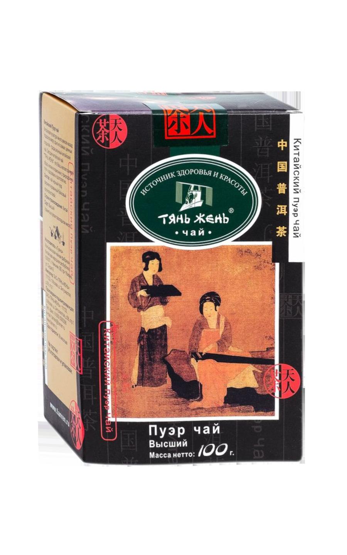 ЧАЙ Тянь Жень Пу Эр 100 гр
