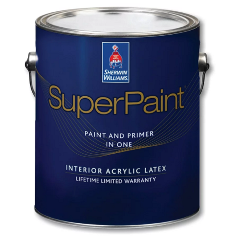 Краска Sherwin-Williams SuperPaint Interior Latex Flat 1L