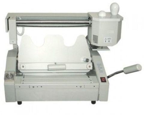Термоклеевая машина Bulros GB-6310-A3 - длина переплета от 50 до 460 мм, производительность до 120 книг в час, толщина обложки до 400 гр.