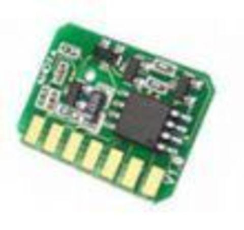 Чип OKI C801N, C821N, C821N, C821DN для голубого тонер-картриджа - Cyan chip. Ресурс 7300 страниц