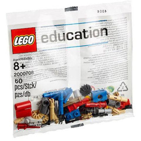 LEGO Education Mindstorms: Набор с запасными частями Машины и механизмы 2000708 — Machines & Mechanisms Replacement Pack 1 — Лего Образование