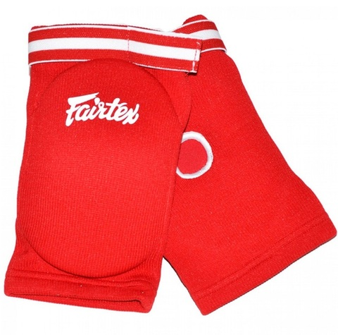 Налокотники Fairtex Elastic Elbow Pads EBE1 Red