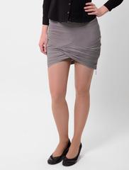 5401-2 юбка серая