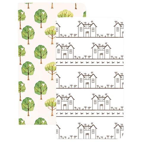 Записные блокноты Color Crush Traveler's Planner Notebooks - 2 шт.-House & Tree