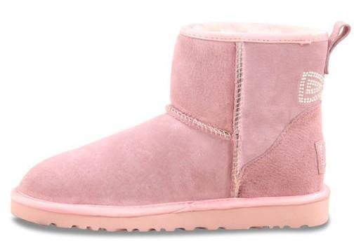 UGG Classic Mini Crystal Bow Pink