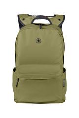Рюкзак WENGER 14'', С водоотталкивающим покрытием, цвет оливковый, 18 л