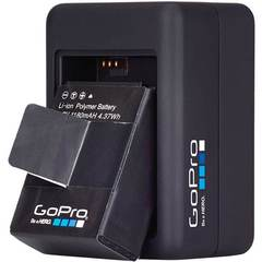 Зарядное устройство для 2-х аккумуляторных батарей Dual Battery Charger (AHBBP-301)