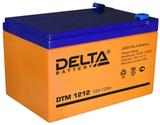 Аккумулятор Delta DTM 1212 ( 12V 12Ah / 12В 12Ач ) - фотография