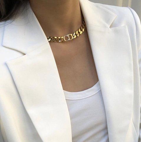 Чокер и браслет Dior