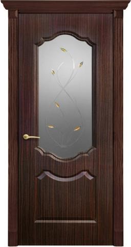 Дверь Канадка Анастасия (венге, остекленная ПВХ), фабрика AIRON