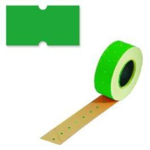 Этикетки 26х16 зеленая прямой край TOVEL (800)