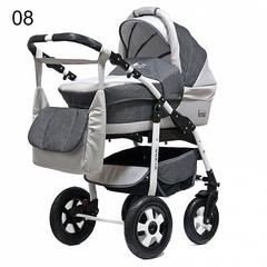 Детская коляска FENIX PCOF (3 в 1) (BartPlast) серый 08