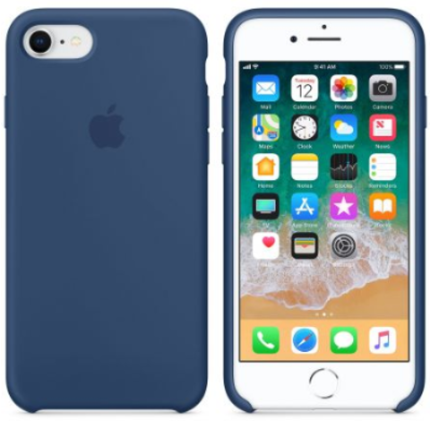 iPhone 7/8 Silicone Case  Navy Blue