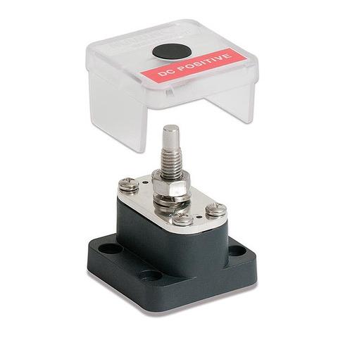 Клемма-штифт одинарная 8 мм, с крышкой и металлической прокладкой