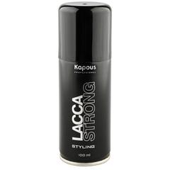 KAPOUS лак аэрозольный для волос сильной фиксации 100мл.