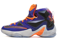 Мужские Кроссовки Nike Lebron XIII Black Violet Orange