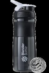 BlenderBottle SportMixer, Универсальная Спортивная бутылка-шейкер с венчиком.  Black-White-черный-белый 828 мл cat