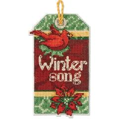 DIMENSIONS Зимняя песня, украшение