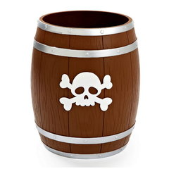 Ведро для мусора детское Kassatex Pirates