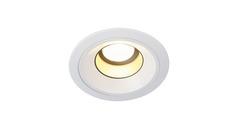 SLV 160541 — Светильник потолочный встраиваемый даунлайт LEDDISK HORN DL downlight, круглый, белый, 12W, 2700K