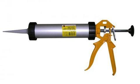 Пистолет для герметика закрытый ЭНКОР
