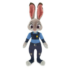 Мягкая Игрушка Офицер Полиции Джуди Хоппс (Judy Hopps) 38 см - Зверополис, Disney