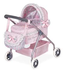 DeCuevas Коляска с сумкой, Романтик, розовая 56 см (86019)