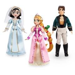 Набор мини  кукол Рапунцель, Кассандра и Флин Райдер - Приключения Рапунцель, Disney