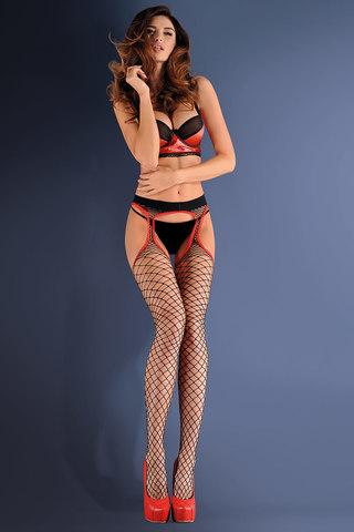 Чулки 637 Strip Panty 153 Nero