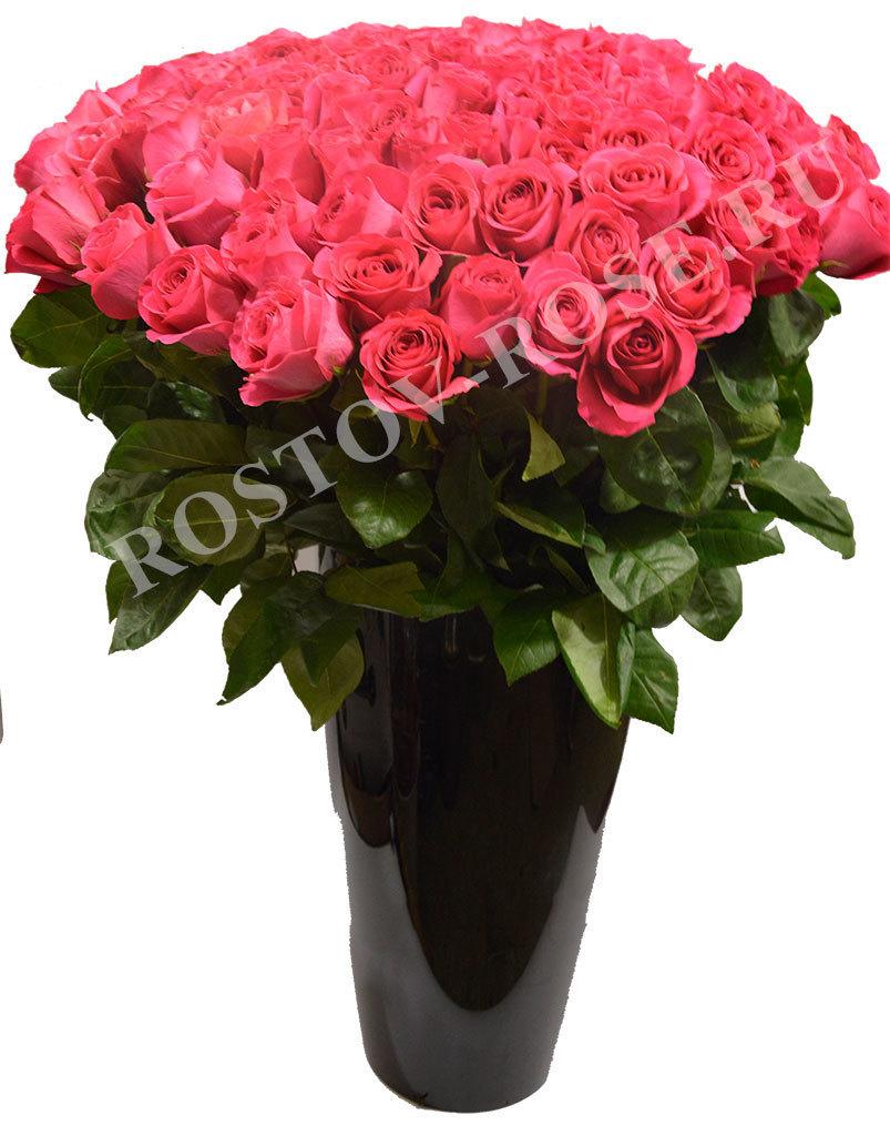 Букет 15 розовых роз (Зквадор)