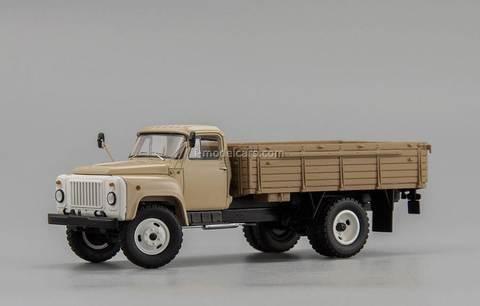 GAZ-53-12 board truck 1985 beige DIP 1:43