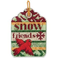 DIMENSIONS Снежные друзья, украшение