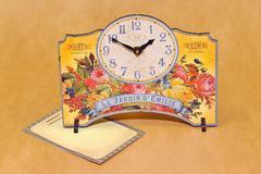 Часы настольные Timeworks Emily's Garden POTEGF