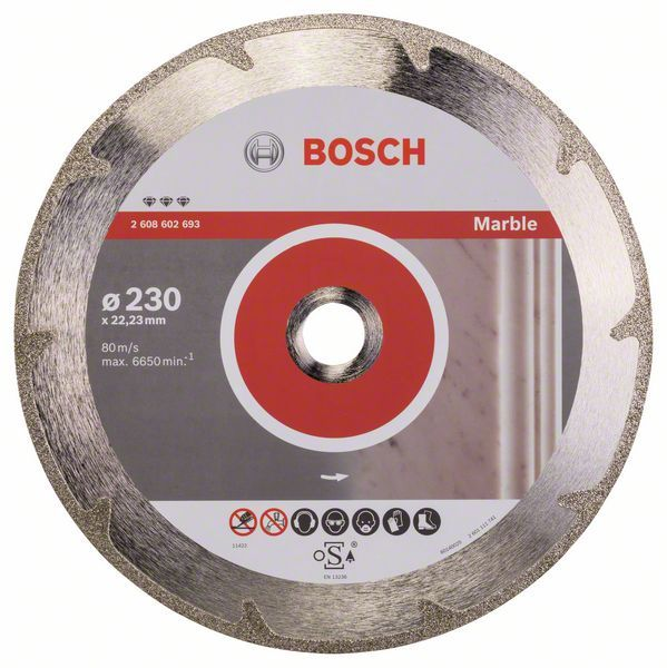 Алмазный диск Best for Marble 230-22,23 Bosch 2608602693