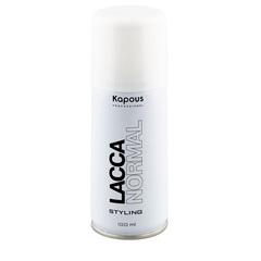 KAPOUS лак аэрозольный для волос нормальной фиксации 100мл.