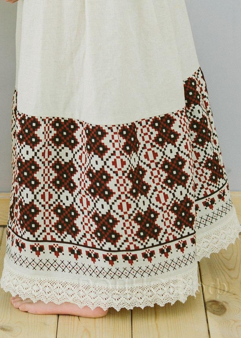Платье для девочки Сударыня 03 подол